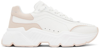 Dolce & Gabbana White Daymaster Sneakers
