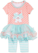 Bonnie Baby 2-Pc. Bunny Tutu Tunic & Leggings Set, Baby Girls (0-24 months)