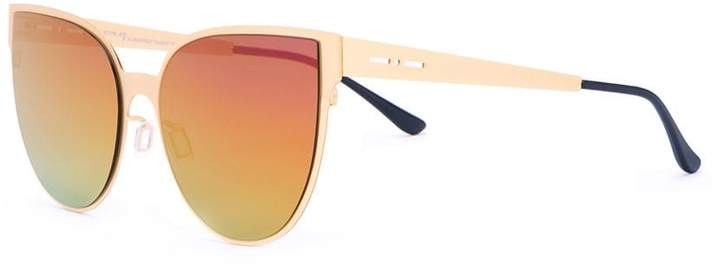 Italia Independent gradient-effect sunglasses