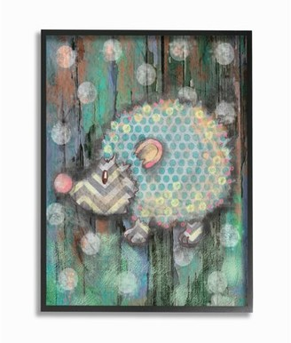 The Kids Room by Stupell Distressed Woodland Porcupine XXL Stretched Canvas Wall Art, 30 x 1.5 x 40