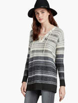 Lucky Brand Lace Up Tunic