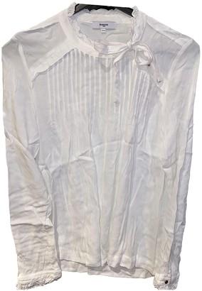 Suncoo White Cotton Top for Women