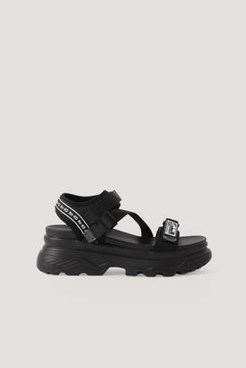 NA-KD Chunky Velcro Sandals