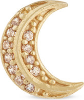 Marc Jacobs Crescent moon stud earring