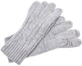 MICHAEL Michael Kors Michael Kors Text Glove (Pearl Heather Grey) - Accessories