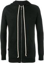 Rick Owens classic hoodie - men - Cashmere - S