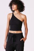 Silence & Noise Silence + Noise Raquel One Shoulder Cropped Top