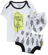 mini heroes (Infant Boys) 3-Piece Everything Is Cool Diaper Set