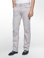 Calvin Klein Straight Leg Stone Grey Jeans