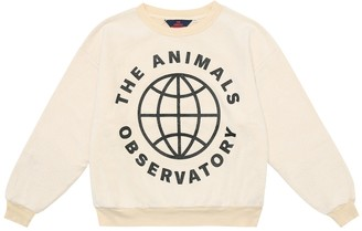 The Animals Observatory Logo cotton sweatshirt