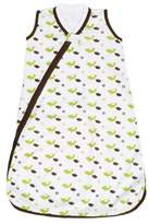 JJ Cole Wearable Blanket, Green Birds, 0-6 Months