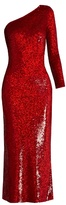 Ashish Sequin-embellished silk maxi dress