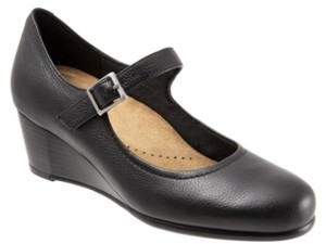 Trotters Willow Mary Jane Wedge Women's Shoes