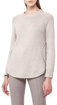 Akris Punto Women's Quadrant Circle Cashmere Blend Pullover