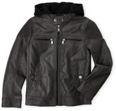 Urban Republic Boys 8-20) Faux Leather Motorcycle Jacket