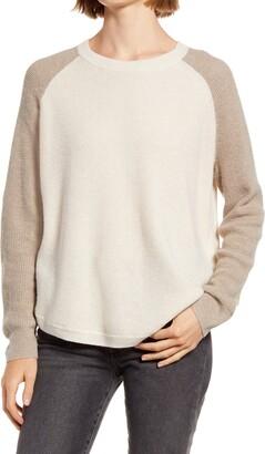 Madewell Jane Waffle Stitch Sweater