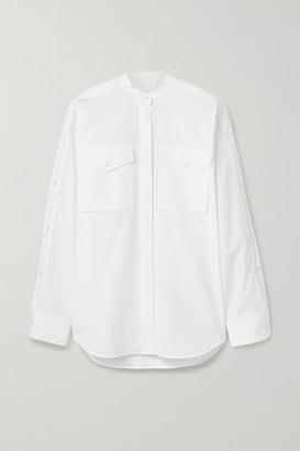 Helmut Lang Cotton-poplin Shirt - White