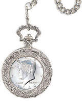 JFK QVC Half-Dollar Pocket Watch