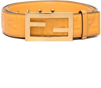 Fendi Baguette embossed logo belt