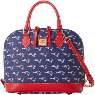 Dooney & Bourke NFL Patriots Zip Zip Satchel