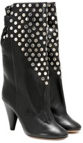 Isabel Marant Lafkee studded leather boots