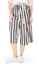 Plus Size Women's Elvi Stripe Culottes