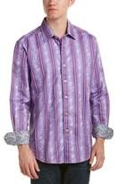 Robert Graham Porthole Classic Fit Woven Shirt.