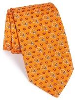 Vineyard Vines Men's 'Cleveland Browns - Nfl' Woven Silk Tie
