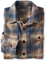 L.L. Bean Signature 1933 Chamois Cloth Shirt, Slim Fit Plaid