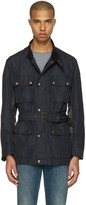 Belstaff Black Sophnet Edition Belted Jacket