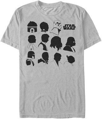 Star Wars Men's Essential Silhouettes Graphic T-Shirt