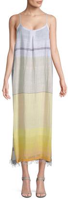 Lemlem Ombre Slip Dress
