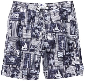 Trunks Surf And Swim Co. Swami Tropical Print Swim Shorts