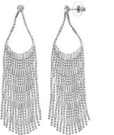 JLO by Jennifer Lopez Nickel Free Fringe Drop Earrings