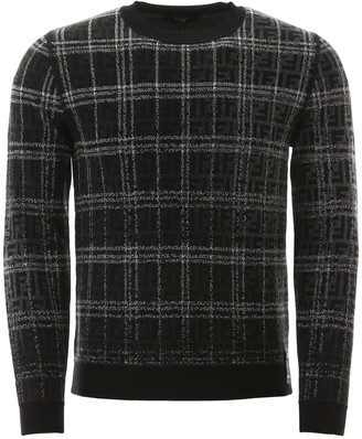 Fendi Check Sweater