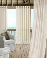 """Elrene Carmen Sheer 114"""" x 95"""" Extra-Wide Indoor/Outdoor Grommet Curtain Panel with Tieback"""