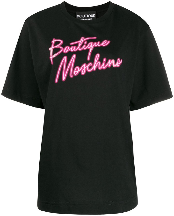 Boutique Moschino logo print T-shirt