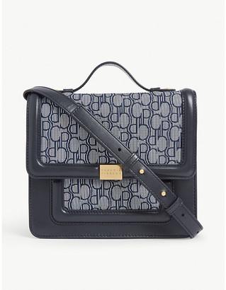 Claudie Pierlot Angela monogram satchel