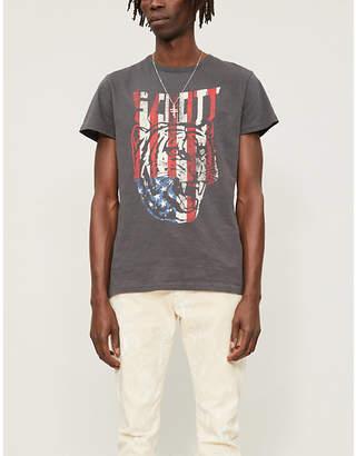Schott Logo-print cotton-jersey T-shirt