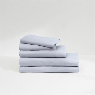 Casper Sateen Sheet Set Fog Blue Full