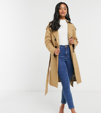 Fashion Union Petite trench coat