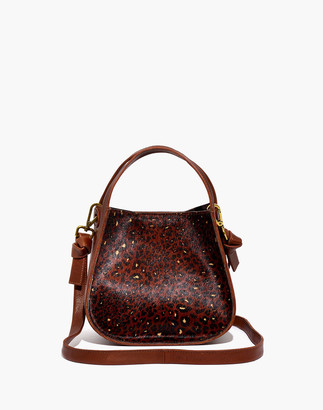 Madewell The Sydney Crossbody Bag: Painted Leopard Calf Hair Edition