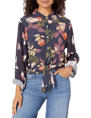 For Love and Liberty Love & Liberty Women's Printed Buttondown Shirt