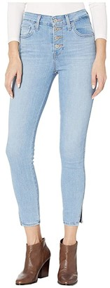 Levi's Womens 721 Exposed Buttons Ankle (Away) Women's Jeans