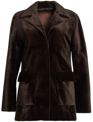 Zac Posen For The Fur Salon Sheared Mink Jacket