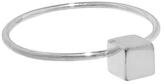 Jennifer Meyer Cube Ring - White Gold