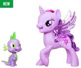 My Little Pony Twilight Sparkle Spike the Dragon Duet