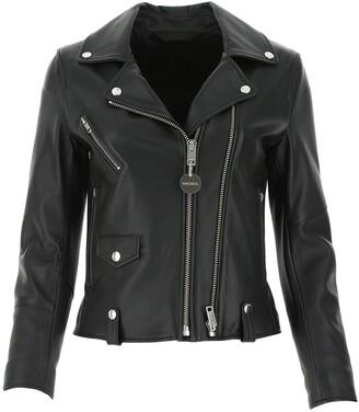 Diesel L-LYFA Leather Biker Jacket