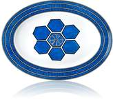 Hermes Bleus D'Ailleurs Large Oval Platter