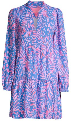 Lilly Pulitzer Winona Long-Sleeve Swing Dress